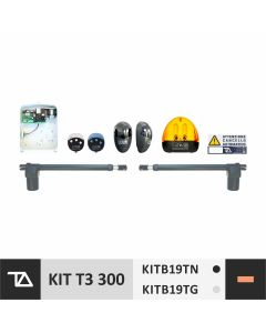 KITB19TN / KITB19TG - KIT T3 300 - PER CANCELLI A BATTENTE